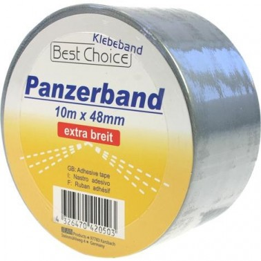 Kleberband-Panzerband 10 m x 48 mm